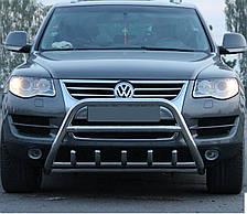 Кенгурятник на Volkswagen Touareg (c 2002--) Фольксваген Туарег PRS