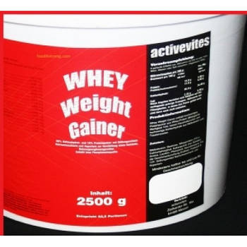 ACTIVEVITES WHEY WEIGHT GAINER 2500G