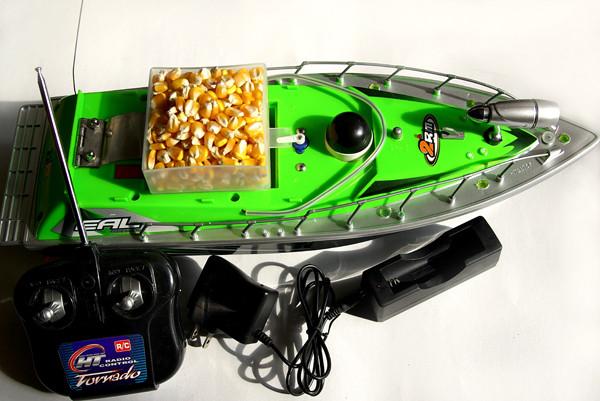 Кораблик катер для завоза прикормки Tornado 1 (Торнадо 1) - Интернет-магазин «Wireless»: Lucky беспроводной эхолот в Кривом Роге