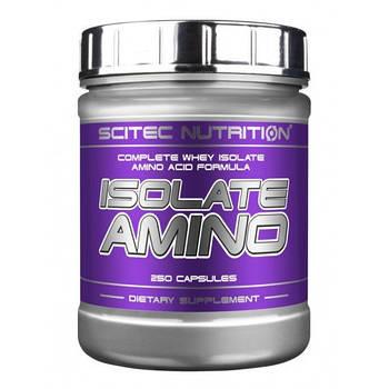 SCITEC NUTRITION ISOLATE AMINO 250CAPS
