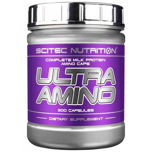 SCITEC NUTRITION ULTRA AMINO 500 CAPS