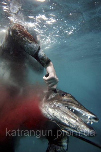 Нож для подводной охоты. Теория и практика.