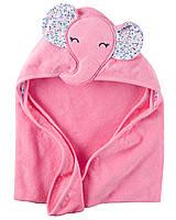 Полотенце с капюшоном для новорожденного Carter's
