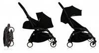 Babyzen Yoyo Plus коляска 2 в 1, цвет черный (черное шасси)
