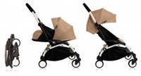 Универсальная коляска BabyZen YoYo Plus 2 в 1, цвет White/taupe