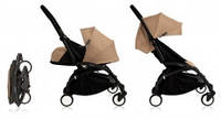 Универсальная коляска BabyZen YoYo Plus 2 в 1, цвет Black/taupe
