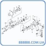 Ремкомплект гайковерта 33411-040 пружина клапана дрос. 33411-A04 King Tony