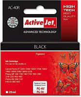 ActiveJet AC-40 черный картридж для принтера Canon (zamiennik PG-40, PG-50)