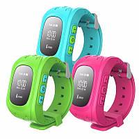 Детские Умные Часы Q50 c GPS, 3 цвета! Высокое качество. Супер цена. Интернет магазин. Код: КДН391, фото 1