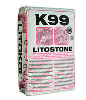 Клей для мрамора, керамогранита, плитки Litokol Litostone К99(литокол к99) 20 кг, белый