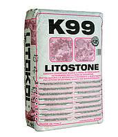 Клей для мрамора, керамогранита, плитки Litokol Litostone К99(литокол к99) 25 кг, белый