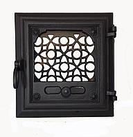 Чугунная печная дверца - VVK 33x36см- 26x29см