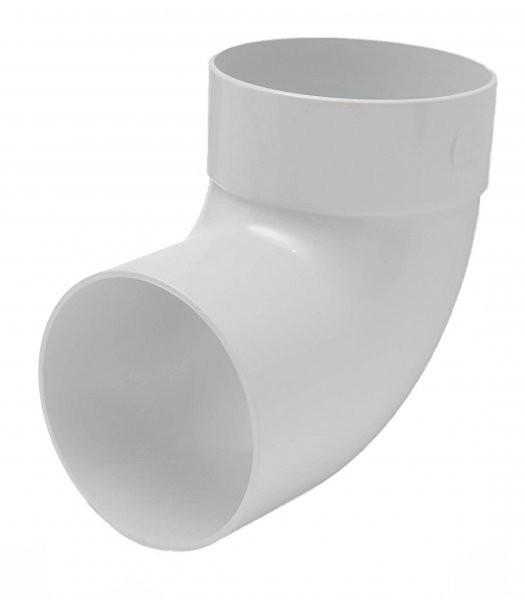 Отвод одномуфтовый 87 RainWay 130/100мм
