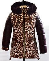 "Зимнее пальто ""Леопард"""