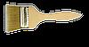 Кисть флейцевая 25мм деревяная ручка  (Украина)