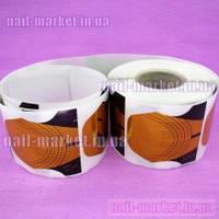 Форма (формы) для гелевого наращивания ногтей (бабина 500 шт).