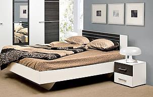 Ліжко 2-сп Круїз 1,8 Білий/Дакар (Світ Меблів TM), фото 2