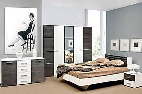 Кровать 2-сп Круиз 1,8 Белый/Дакар (Світ Меблів TM), фото 2