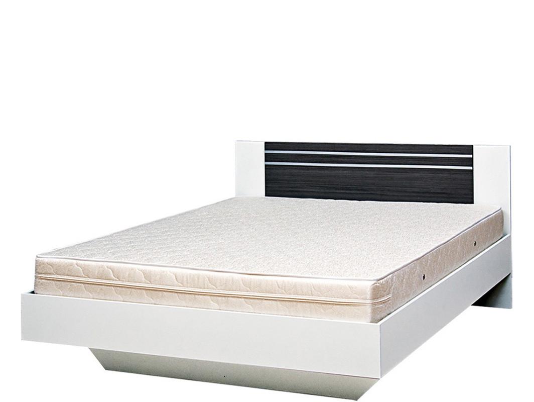 Ліжко 2-сп Круїз 1,8 Білий/Дакар (Світ Меблів TM)