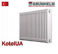 Стальной панельный радиатор GRUNHELM тип 22 500*500 боковое подключение