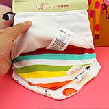 Слюнявчики нагрудники MOM'S CARE с махровым слоем набор 3шт для самых маленьких, фото 6
