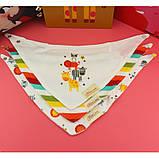 Слюнявчики нагрудники MOM'S CARE с махровым слоем набор 3шт для самых маленьких, фото 7