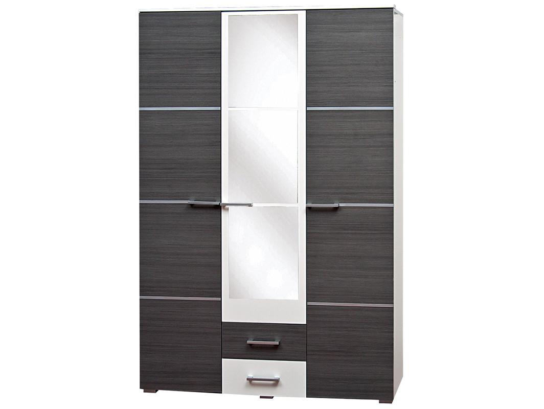 Шкаф 3Д Круиз Белый/Дакар (Світ Меблів TM)