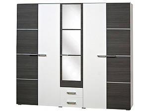 Шкаф 5Д Круиз Белый/Дакар (Світ Меблів TM), фото 2