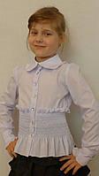 """Блузка для девочки """"резиночка-длинный рукав"""""""