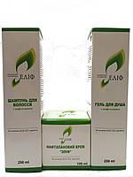 Набор №1 крем Елиф, шампунь и гель Елиф с нафтоланом, для лечения дерматологических заболеваний