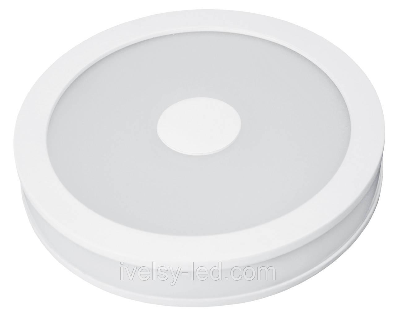 LED Светильник EUROLAMP круглый накладной Downlight 24W 4000K (с врезным типом монтажа)