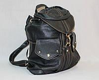 Стильный женский рюкзак №8802 черный