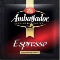 Кофе молотый Ambassador Espresso в монодозах - 100 шт