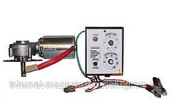 Привод медогонки электрический, горизонтальный напряжение 12 В (алюминиевый корпус редуктора) У