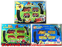 """Ж.Дорога 2959/2859/2759 Angry Birds""""/""""Sponge Bob"""" батар.3в.кор.36,5*4,5*25,5"""