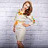Вышитое платье в украинском стиле Солнечное, фото 2