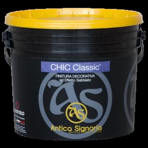 Декоративная краска Chic Classic (база Silver/Gold/Mat). Antica Signoria
