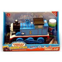 Паровозик на батарейках Thomas Bubble Train с мыльными пузырями