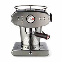 Домашняя кофеварка illy X1 MACINATO INOX / кофемашина цвет металлик