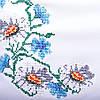 Вышитое платье в украинском стиле Полевые цветы белого цвета , фото 6