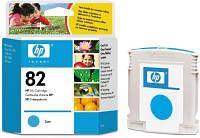 Картридж струйный для принтера струйного HP 82 cyan C4911A