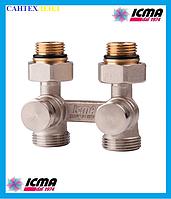 Двухтрубный вентиль для панельного радиатора ICMA 897