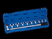 Ключ динамометрический в наборе со сменными насадками 40-200НМ KINGTONY 345202D11MR