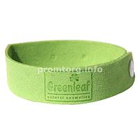 """Браслеты от комаров хлопчато-бумажный """"GreenLeaf"""" с регулируемым размером"""