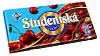 Шоколад ORION Studentska Pecet молочный с вишней 180г