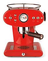 Домашняя кофеварка illy X1 MACINATO ROSSA  / кофемашина цвет красный