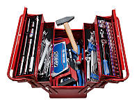 Набор инструментов 89 ед. в ящике  KINGTONY 902-089MR01
