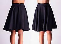 Школьная юбка для девочек черная