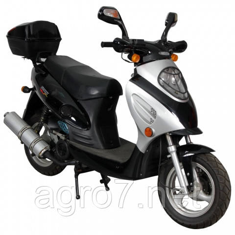 Скутер з доставкою SP150S-16(4т., 150см3, задній багажник, 2 задніх амортизатора)