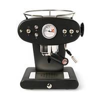 Домашняя кофеварка illy X1 MACINATO NERO / кофемашина цвет черный